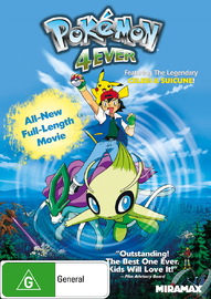 Pokemon 4Ever on DVD