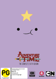 Adventure Time - The Complete Sixth Season on DVD