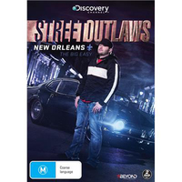 Street Outlaws: New Orleans on DVD