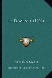La Demence (1906) by Armand Marie