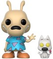 Rocko's Modern Life - Rocko & Spunky Pop! Vinyl Figure (with a chance for a Chase version!)