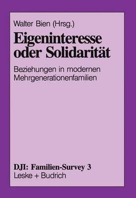 Eigeninteresse Oder Solidariteat
