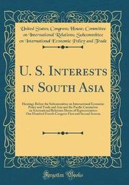 U. S. Interests in South Asia by United States Trade image