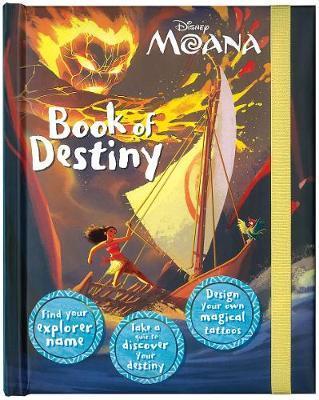 Disney Moana Book of Destiny by Parragon Books Ltd image