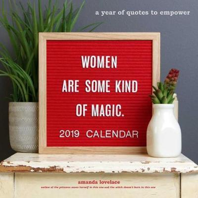 Women Are Some Kind of Magic 2019 Wall Calendar by Amanda Lovelace image