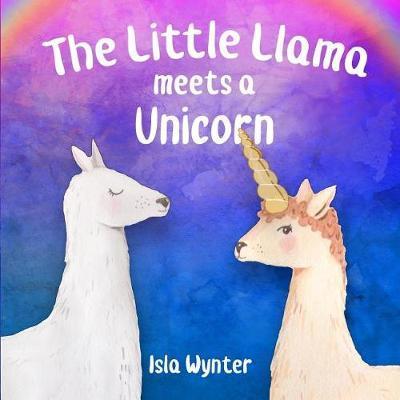 The Little Llama Meets a Unicorn image