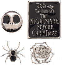Nightmare Before Christmas Lapel Pin