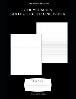 Storyboard & college ruled line paper by Gail Notebooks image