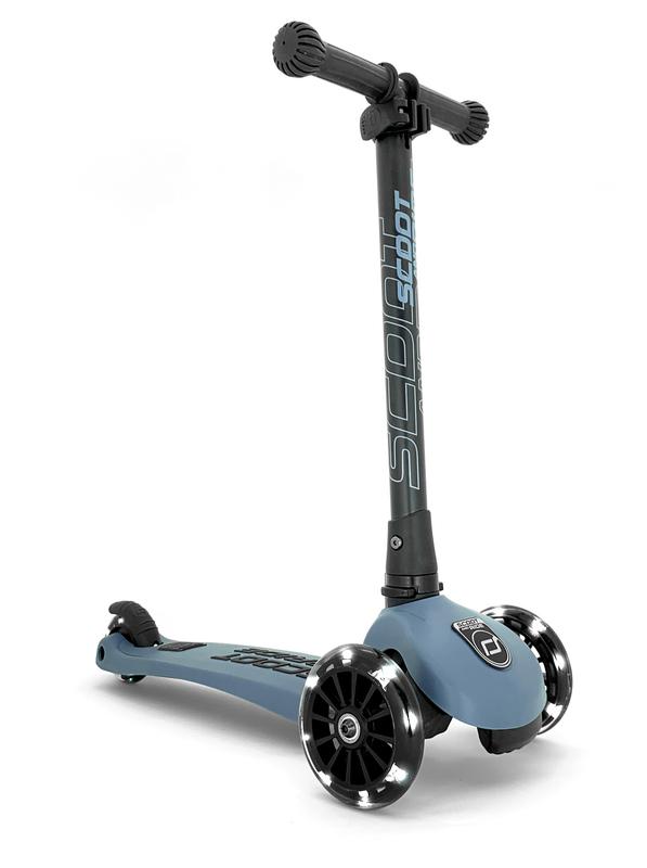 Scoot & Ride: Highwaykick 3 - LED Steel