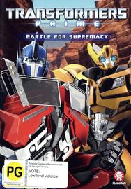 Transformers: Prime - Season 2 Volume 2 DVD image