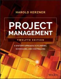 Project Management by Harold R. Kerzner