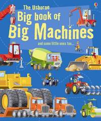 Big Book of Big Machines by Minna Lacey image