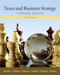 Taxes & Business Strategy by Myron S. Scholes
