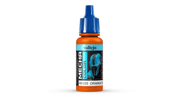 Vallejo: Mecha Colour Paint - Orange Fluorescent (17ml)