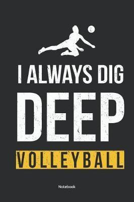 Notebook by Volleyball Friends