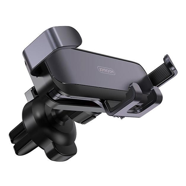 Mini Metal Gravity Universal Car Phone Holder - Air Outlet Bracket (Grey)