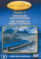 World Class Trains Volume 3 on DVD