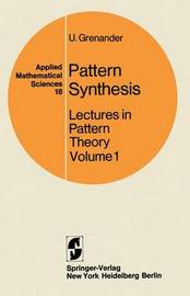 Lectures in Pattern Theory: v. 1 by Ulf Grenander image
