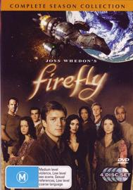Firefly - Complete Series (4 Disc Set) on DVD