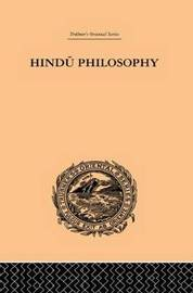 Hindu Philosophy by John Davies image