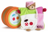 Kaloo: Bear Comforter - Pink