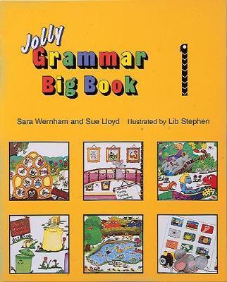 Grammar Big Book 1 by Sara Wernham image