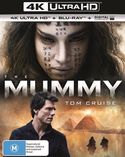 The Mummy (2017) on UHD Blu-ray image