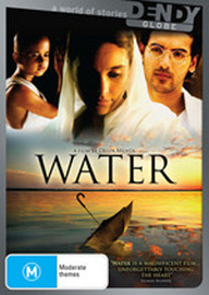 Water on DVD image