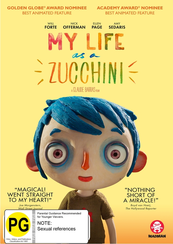 My Life As A Zucchini on DVD