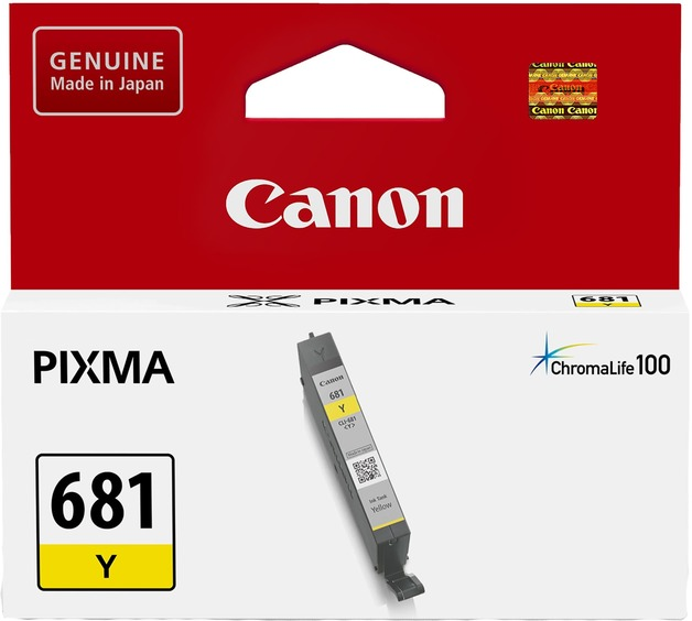 Canon Ink Cartridge - CLI681Y (Yellow)