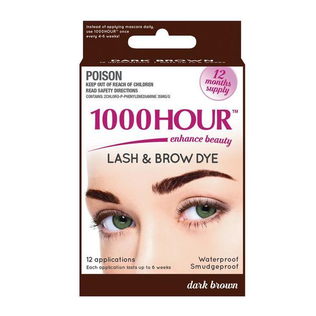 1000 Hour Eyelash Tint - Dark Brown