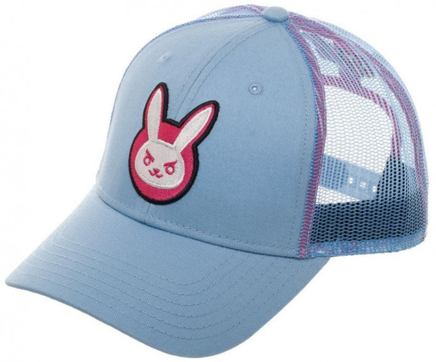 Overwatch D.Va Adjustable Trucker Cap