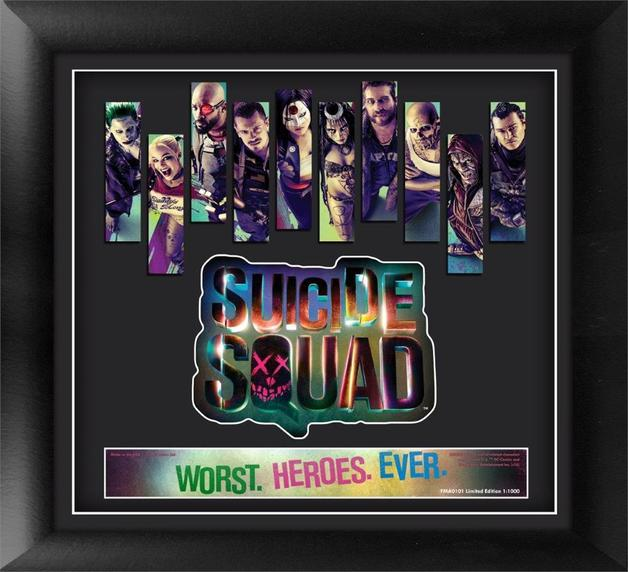 FilmCells: Framed Movie Art - Suicide Squad