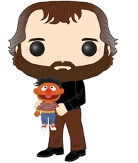 Sesame Street: Jim Henson (with Ernie) - Pop! Vinyl Figure