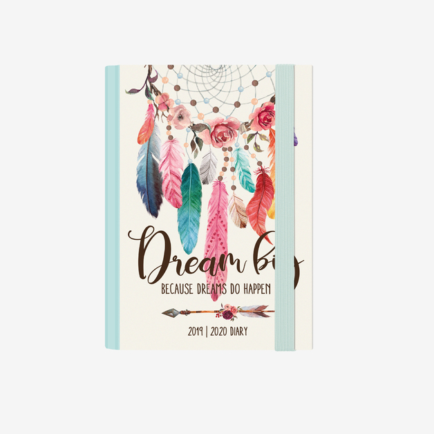 Legami: Small Weekly 12 Month 2020 Diary Spiral Bound - Dreamcatcher