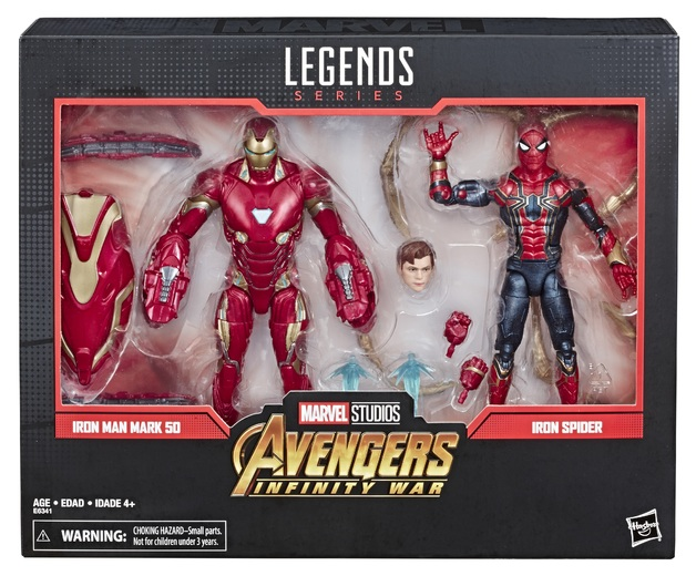 Marvel Legends: Action Figure 2-Pack - Iron-Man (Mark 50) & Iron Spider