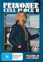 Prisoner - Cell Block H: Vol. 28 - Episodes 433-448 (4 Disc Set) on DVD