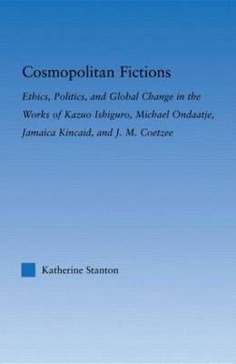 Cosmopolitan Fictions by Katherine Stanton image