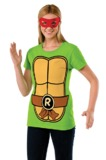 TMNT Raphael Costume T-Shirt & Mask (Medium)