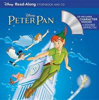 Peter Pan Read-Along Storybook and CD by Disney Book Group