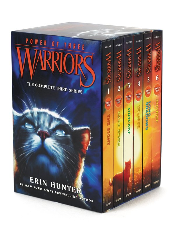 Warriors: Power of Three Box Set: Volumes 1 to 6 by Erin Hunter