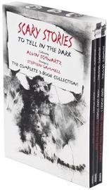 Scary Stories Paperback Box Set by Alvin Schwartz