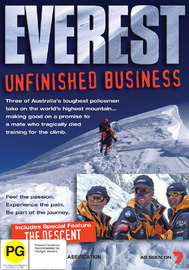 Everest - Unfinished Business on DVD image