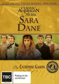 Sara Dane - (Classic Australian Stories) on DVD image
