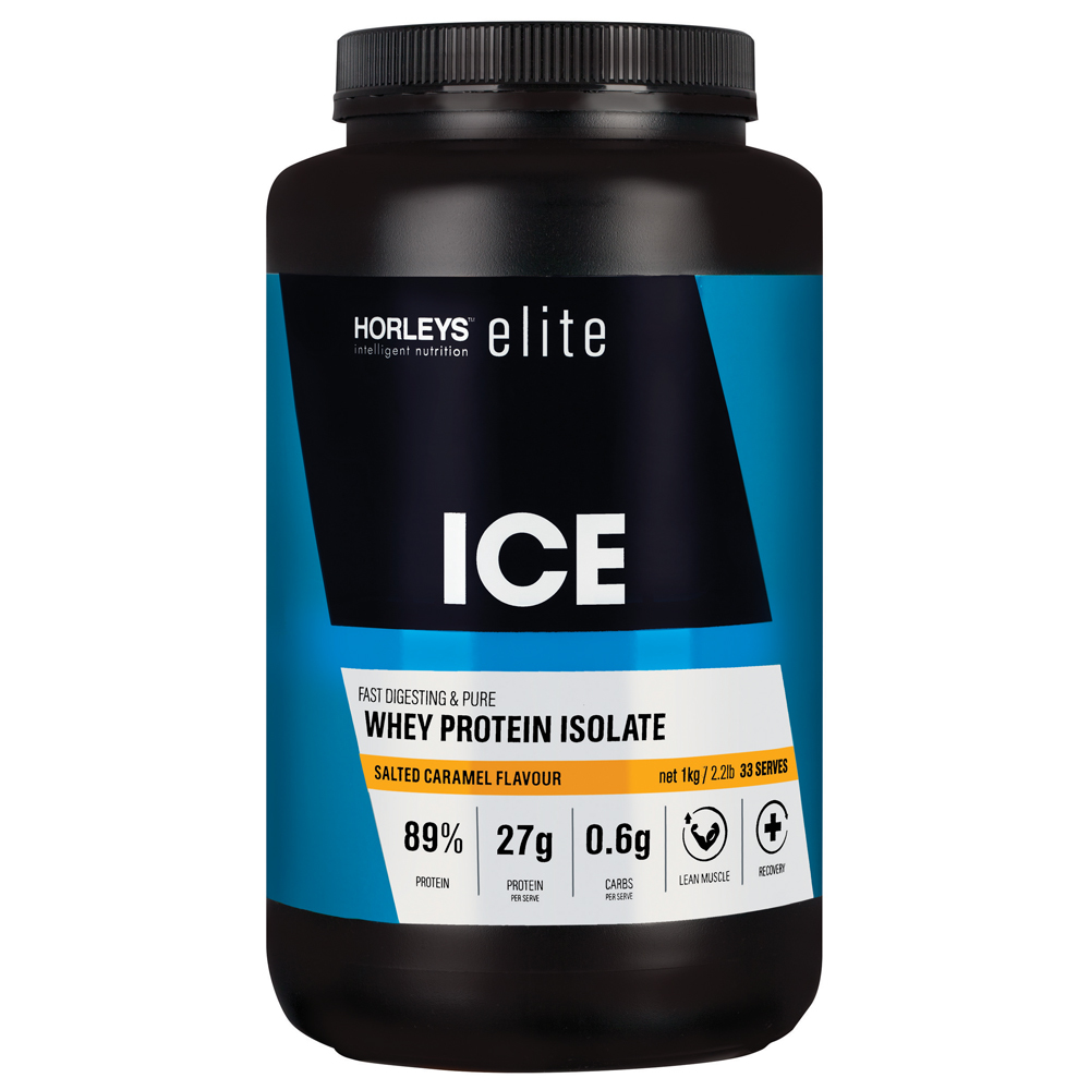 Horleys ICE Whey Protein Isolate - Salted Caramel (1kg) image