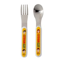 The Wiggles 2-Piece Cutlery Set