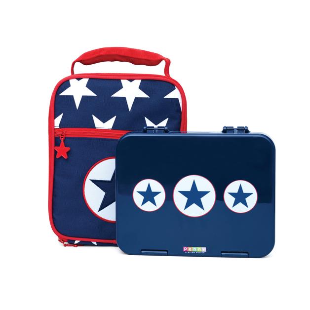 Navy Star Bento Cooler Bag