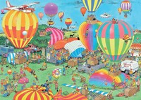 Holdson: 1000 Piece Puzzle - Van Haasteren (The Balloon Festival)