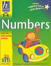 Age 3-4 Numbers by Sue Atkinson image