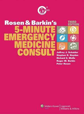 Rosen and Barkin's 5-Minute Emergency Medicine Consult image